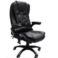 Quality LEATHER RECLINING CHINA OFFICE MASSAGE CHAIR WITH 6 POINT MASSAGE for sale