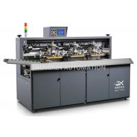 Quality Three Color Automatic Screen Printing Press For Beverage / Wine / Liqour Bottle for sale