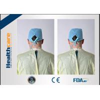 Quality Antibacterial Disposable Protective Gowns Medical Apron ISO13485 CE Approved for sale