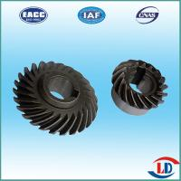 Quality CNC precision forging auto parts straight bevel gear - Anyang Lianda for sale