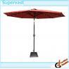 Cheap Garden Decorative Heavy Duty Crank 10FT Patio Umbrellas With Solar Lights wholesale
