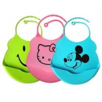 Quality 2013 Hot Sell Flexsible Silicone Baby Bibs for sale