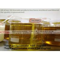 Quality Effective Injectable Anabolic Steroids Testosterone Enanthate 250mg/ml for Muscle Building for sale