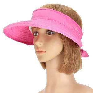 Quality Foldable Face Neck Visor Caps For Women , Anti - UV Wide Brim Sun Protection Visor Hat for sale