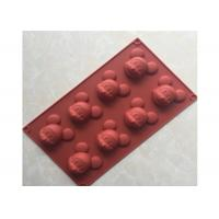 Quality Food Safety, Mickey Mouse , Multi-Cavities , Silicone Chocolate Mold for sale