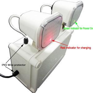 Quality Waterproof Twin Spot Emergency Lights , Fireproof PC Casing LED Emergency Lamp for sale