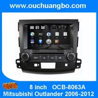 Quality Ouchuangbo HD Video Car Multimedia Kit for Mitsubishi Outlander 2006-2012 GPS System DVD USB iPod Audio OCB-8063A for sale