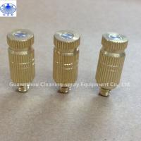 Buy cheap Brass indoor outdoor high presure fine fog mist spray nozzle for mist cooling system from wholesalers