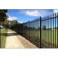 China Customized Black Decorative Fence Panels For Highway / Railway / Airport on sale