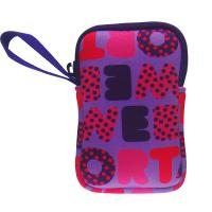 Quality Rectangular Cube Neoprene Camera Case Purple For Sony / Nikon / Canon for sale