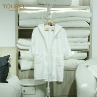 Quality Cute Children Hotel Quality Bathrobes Warm Comfortable Touch Embroidery Logo for sale