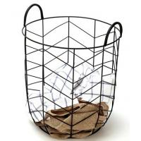 Quality Modern Other Furniture Metal Wire Laundry Basket Outdoor Backyard Furniture for sale