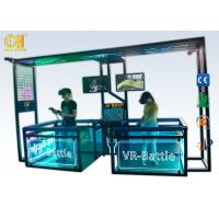 China 9D Cinema Virtual Reality Simulator Brother VR Games For Two Players on sale