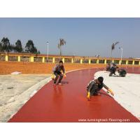 Quality Safety High School Running Track Flooring PU Material Wear Resistance for sale