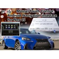 Quality Two in One Android 6.0 Lexus Video Interface for IS Support WIFI / Mirrorlink / Google Play for sale