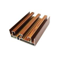 Buy cheap Bedroom Aluminium Sliding Door Frame Shape Customized For Decoration from wholesalers