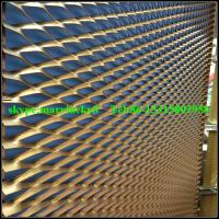 Quality Guaranteed Anodized Expanded Metal facade for sale