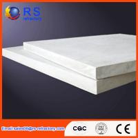 Quality Refractory Ceramic fiber board for industrial kiln / furnace With White Color for sale