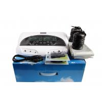 China Bio Ion Cleanse Detox Foot Spa Massager Machine With Infrared Belt Therapy Pads on sale