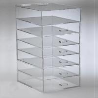 Buy 7 Tier Makeup Acrylic Display Box With Drawers For Shopping Mall at wholesale prices