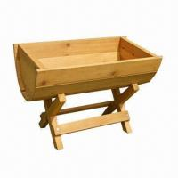 Buy cheap Plan Stand/Flower Box, Made of Kiln-dried Fir Wood, with Great Quality product
