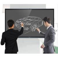 Quality Portable Smart Interactive Whiteboard 75 86 100 Inch 0.8ms Fluent Writing for sale