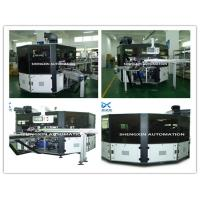 Buy Flat Bed Silk Automatic Screen Printing Machine Turntable Type at wholesale prices