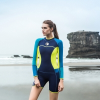 Quality Womans colorful 0.5KG 3mm Neoprene Diving Suit for sale