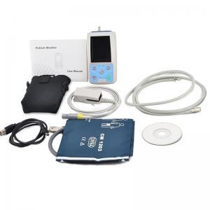 Buy cheap PM50 TFT Portable 24 hours USB Ambulatory Automatic Blood Pressure Oxygen NIBP PR SPO2 Patient Monitor digital BP Test product