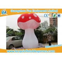 Buy cheap 3.5mH Ligthting Inflatable Mushroom Props Model Water Proof Material product