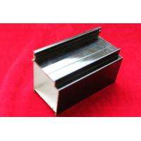 Quality Black Coated Aluminum Frame Extruded Aluminum Profile For Windows And doors for sale