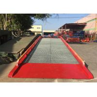 China 32#   H  Beam Mobile Container Dock Ramp With Adjust Range 1200 ~ 1700mm on sale