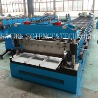 China LYSAGHT KLIP-LOK 406 Roll Forming Machinery Manufacture with 40GP Container on sale