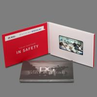 "Buy cheap Custom Video Greeting Cards Lcd Brochure With Video Screen , 4.3""-10"" Screen product"