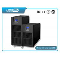 Buy cheap Smart Pure Sine Wave Single Phase Online UPS For Computer Center , Data Center product