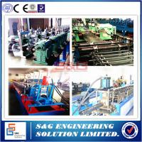 China 13m / Min Corrugated Sheet Roll Forming Machine Rack Storage Systems 15T on sale