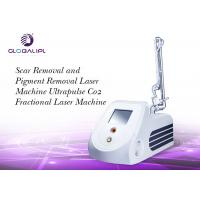 China Scar Removal Skin Renewing CO2 Fractional Laser Machine 33.3Hz Pulse Frequency on sale