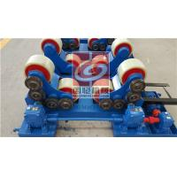 5T Pipe Welding Rotator with PU Rollers and Siemens Motor , Wireless type Remote Control Box