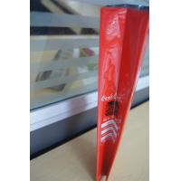 Cheap Customized side gusset aluminum foil coffee bags with valve , red green wholesale