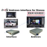 Quality Sienna  Android Auto Interface 3 - Road Navigation Video Interface for sale