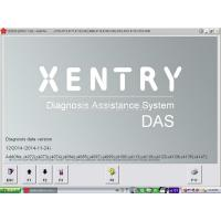 Quality 120G Used HDD 2015.07 Xentry MB Star C4 HDD Software Online Coding and Added W204 DAS+EPC for sale