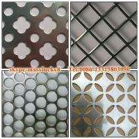 Quality perforated metal mesh plate/perforated metal and mesh for sale
