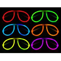 China China fashion glow eye glasses of  glow sticks in the dark for custom made on sale
