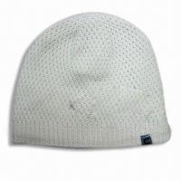 Buy cheap Women's Hat, Made of 10%nylon, 20%angora and 70%wool from wholesalers
