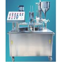 Buy cheap KIS-900 Rotary Cup Filling And Sealing Machine from wholesalers