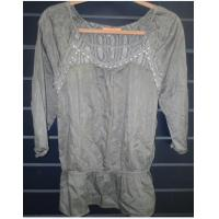 Buy Silk Cotton Womens Custom Clothing 3/4 Sleeve Top Design at wholesale prices