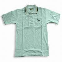 China 100% Cotton Men's Polo Shirt with Embroidery on sale