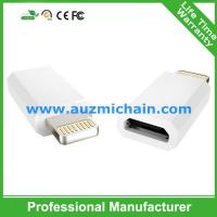 Quality MFI lightning adapter adapter for iphone 5 iphone6 for sale