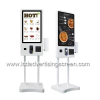 China 350cd/M2 32 Inch Capacitive LCD Self Service Payment Terminal on sale