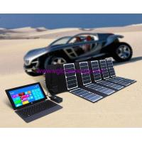 Quality Powerful 65W solar charger for Laptop, battery, mobile etc for sale